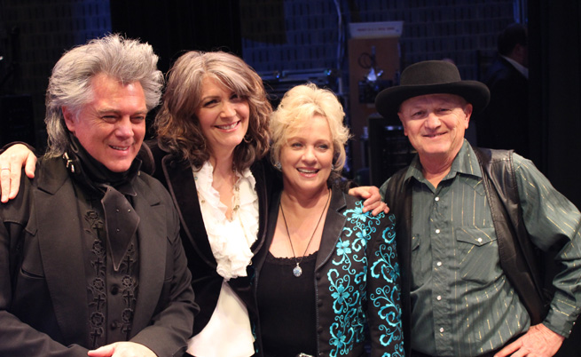 Marty Stuart, Kathy Mattea, Connie Smith and Charlie McCoy
